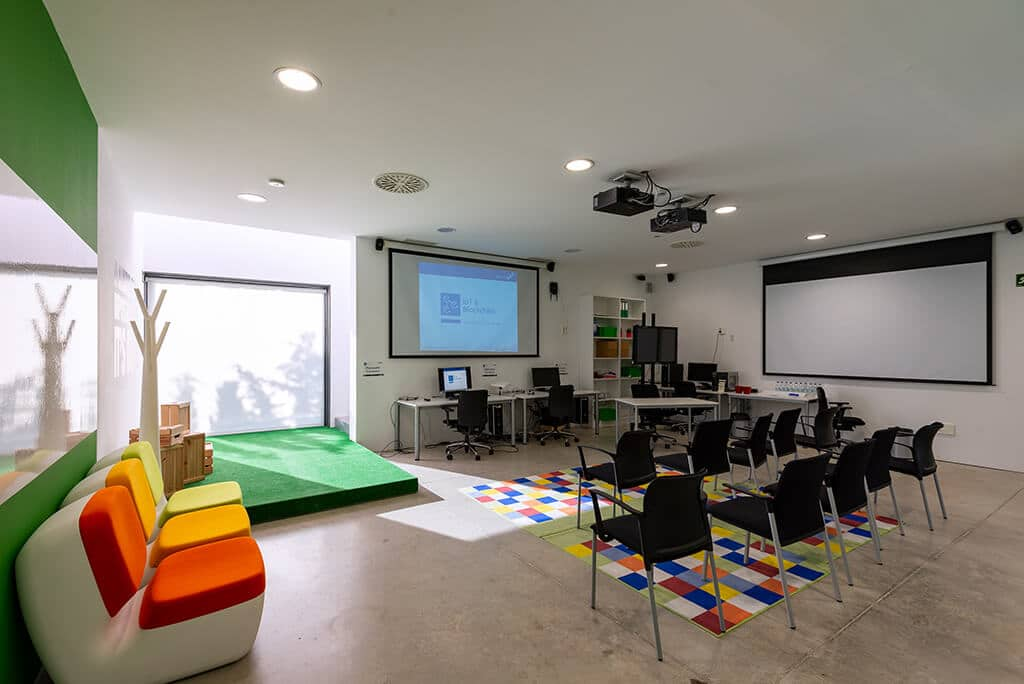 Sala laboratorio IoT